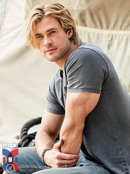 Chris Hemsworth foi eleito o homem mais sexy do mundo pela revista People
