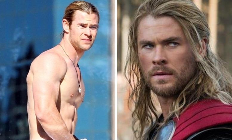 Chris Hemsworth interpretou o Thor