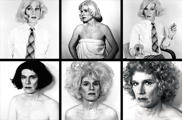 Andy Warhol retratado como mulher: mostra reúne cinquenta imagens