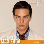 Max Zaga é Chuck Bass (Reprodução)