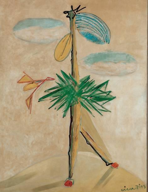 Mamoeiro ou Dançarino (1946), de Cícero Dias