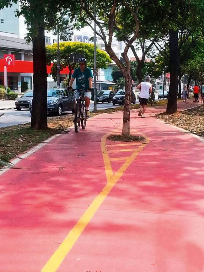 ciclovia avenida Sumaré