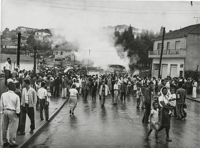 Protestos  Vila Maria depredam - março de 1962