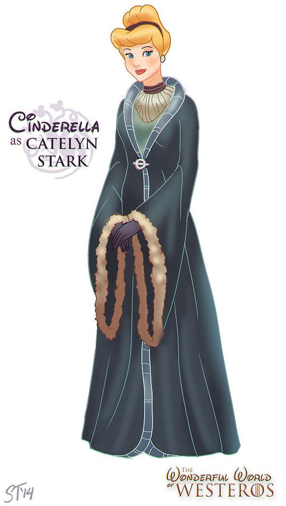 Cinderella, a Gata Borralheira, é Catelyn Stark