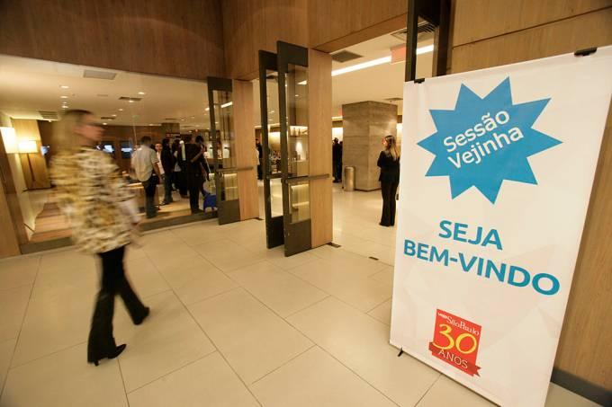 Sessao Vejinha no Shopping Cidade Jardim / foto: Fernando Moraes/VSP