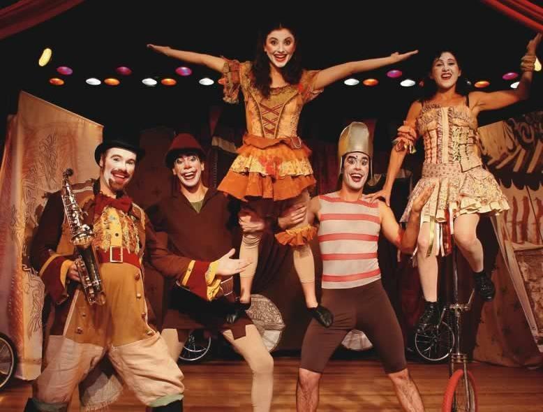 Malabarismo, música e palhaçada: o animado Circo do Seu Lé