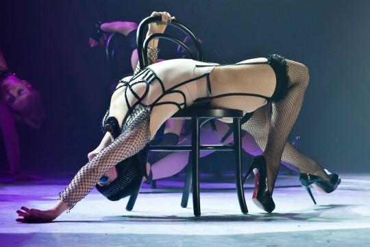Claudia Raia no musical Cabaret