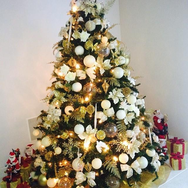 A Árvore de Natal da casa de Claudia Raia