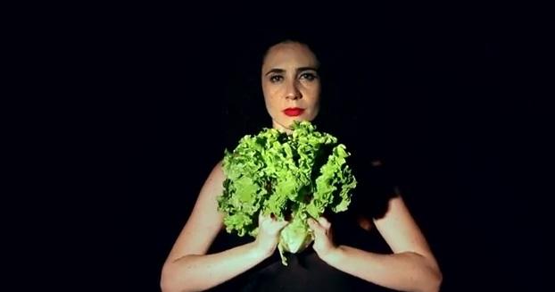 Layla Ruiz: prima de Tulipa estrela o vídeo (Foto: Reprodução)