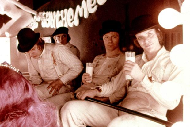Laranja Mecânica, de Stanley Kubrick: 14, 15 e 18 de junho
