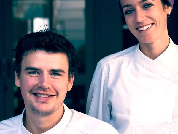 Carol e Willem: parceria dentro e fora do restaurante espanhol (Foto: dvulgação)