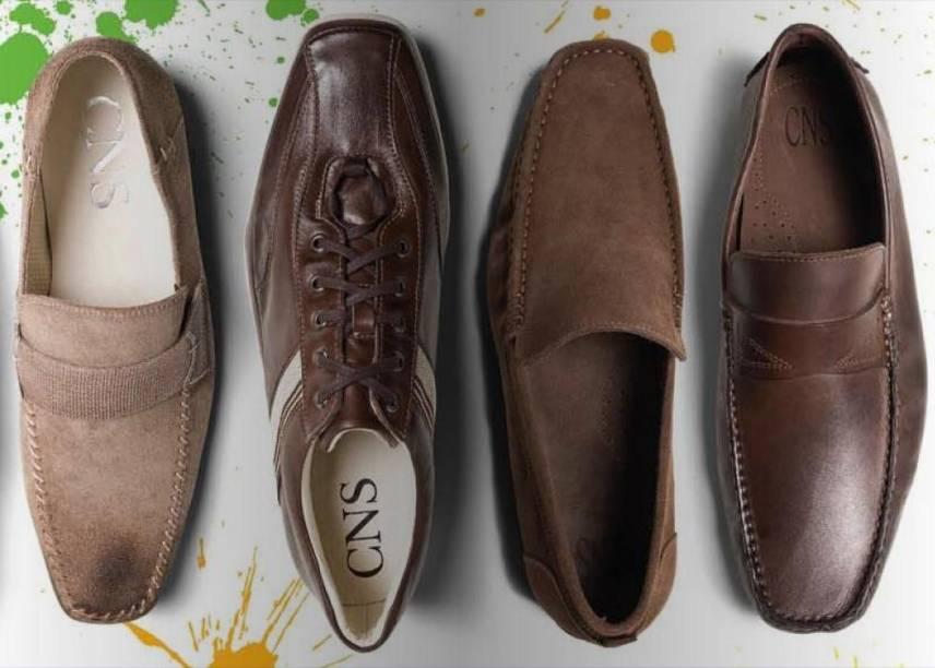 CNS: calçados masculinos