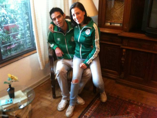 Cobertura Copa - Estrangeiros no Brasil - Alejandro e Kristell - México