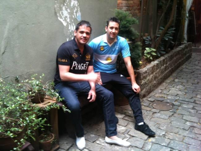 Cobertura Copa - Estrangeiros no Brasil -  Rodrigo e Andrés - Argentina
