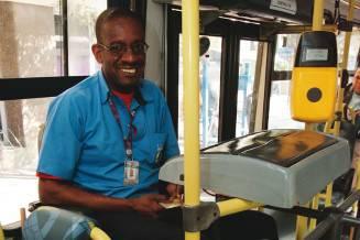Cobrador de ônibus Francisco Carlos Nascimento