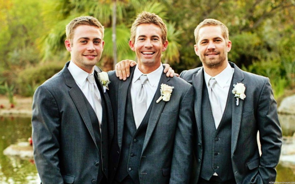 Cody, Caleb e Paul, os irmãos Walker