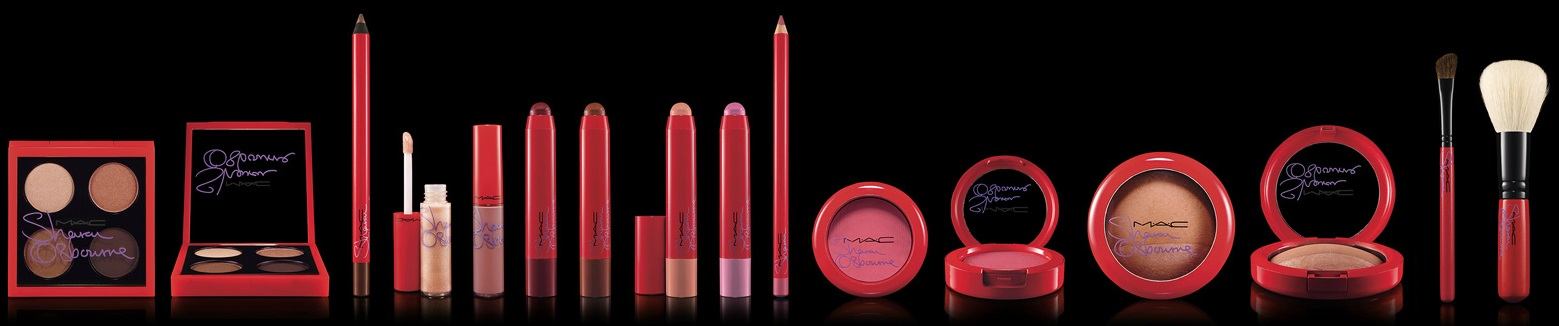 Coleção MAC - Sharon Osbourne