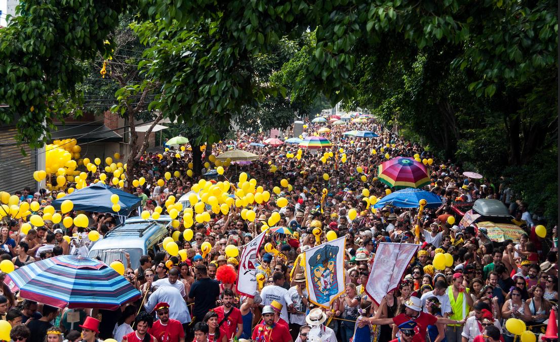 Confraria do Pasmado: público estimado de 30 000 pessoas (Foto: Elisa Matile/Divulgação)