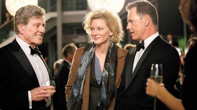 Robert Redford e Cate Blanchett estão em Conspiração e Poder