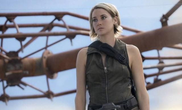 Shailene Woodley é a estrela da saga Divergente