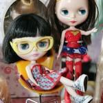 Armação de óculos exclusivos para a Blythe: criação da Chilli Beans será vendida por 35 reais (Foto: Fernando Moraes)