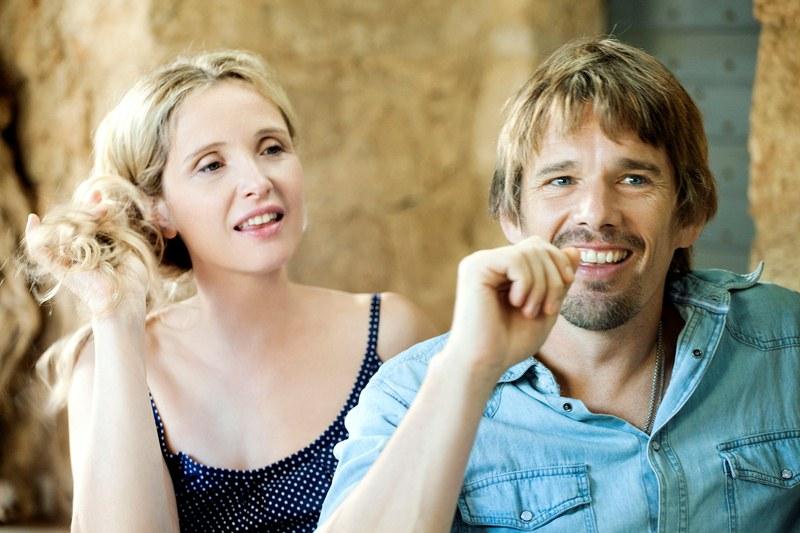 Antes da Meia-noite: Celine (Julie Delpy) e Jesse (Ethan Hawke)