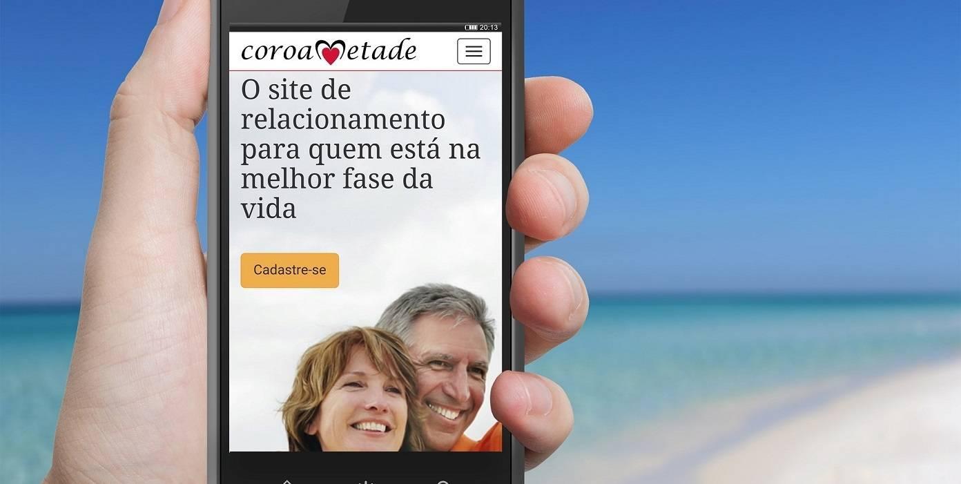 Em maio, o site de relacionamentos para pessoas acima dos 40 anos será oferecido também em um aplicativo (Foto: Divulgação)