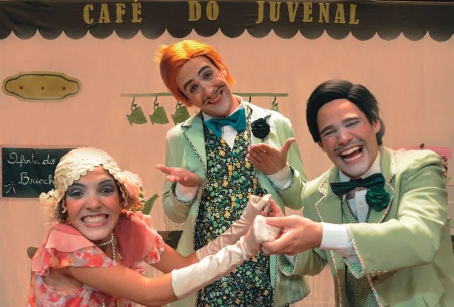 Bárbara Boonie, Cadu Souza e Leonardo Santiago: o musical Canção de Amor em Rosa