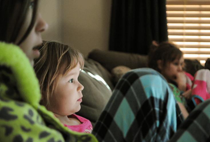 Crianças televisão