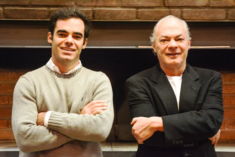 Carlos Rios: comando dividido com o filho Guilherme, responsável pelo delivery (FotoS: divulgação)