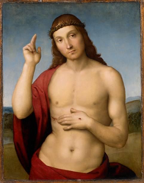 Rafael: Cristo benedicente, 1506, óleo sobre madeira