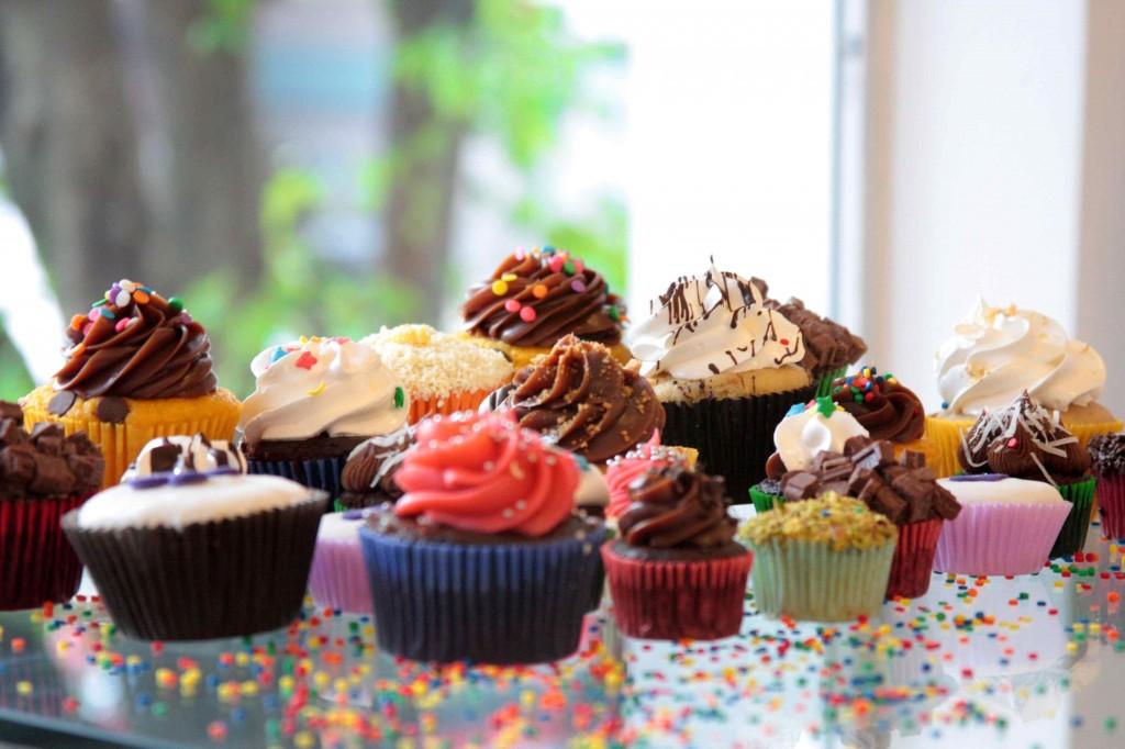 Feirinha na Hebraica: cupcakes estão entre as guloseimas (Foto: divulgação)