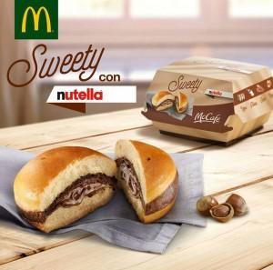 Mc Donald's Sweety con Nutella