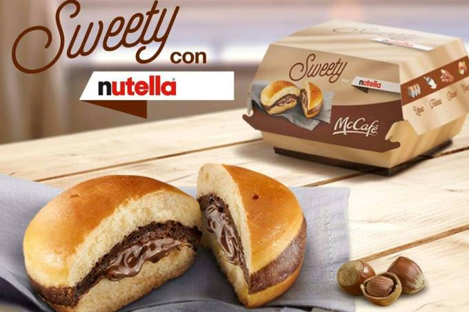 Mc Donald's Sweety con Nutella