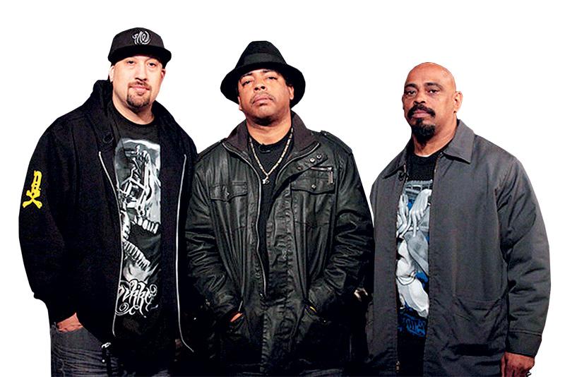 B-Real, Eric Bobo e Sen Dog: principal atração do Festival M.A.C.