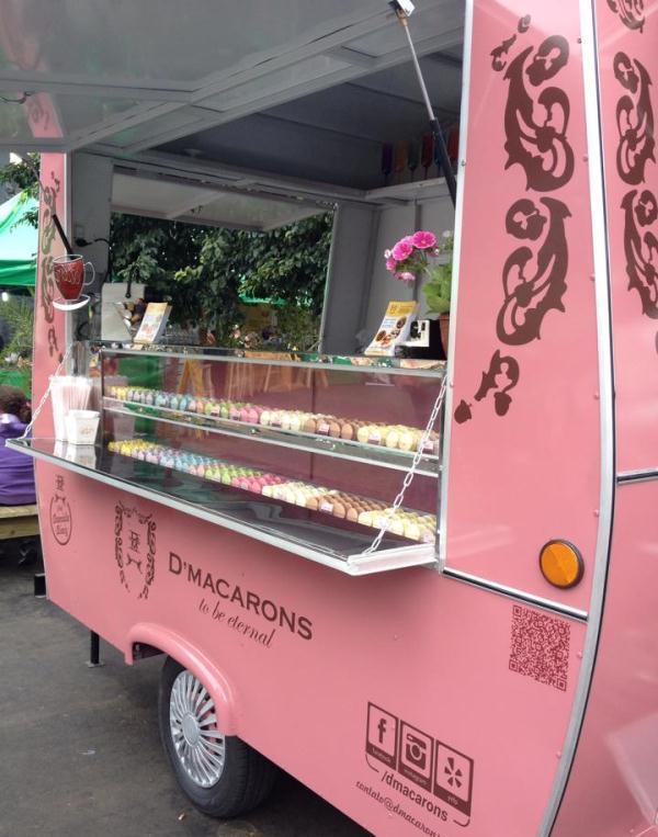 D'Macarons: especializado em biscoitos de farinha de amêndoa (Foto; divulgação)