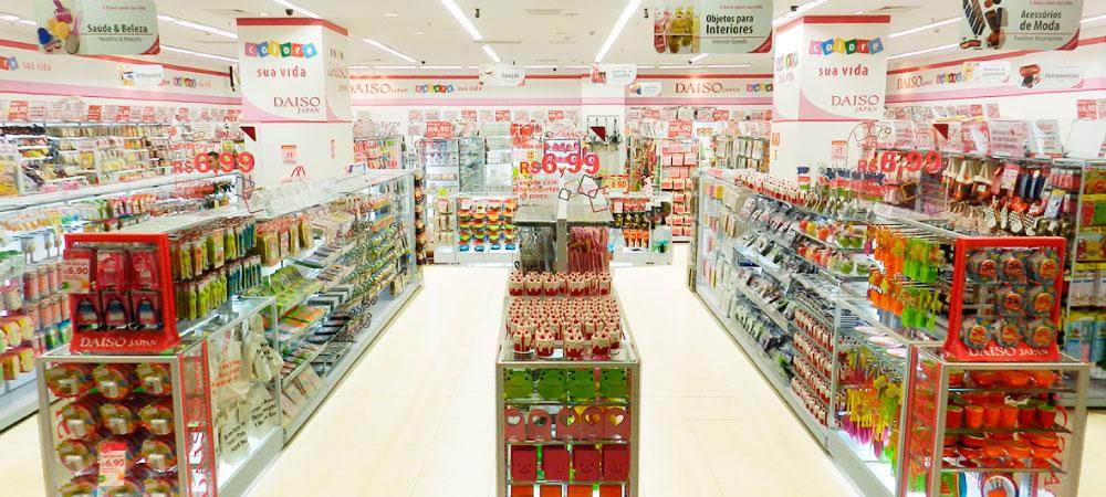 Daiso Japan é sucesso no Brasil (Foto: Divulgação)