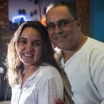 Maria de Lourdes Aleixo e o marido, Paulo Roberto Aleixo. (FOTO: Ricardo D'Angelo)