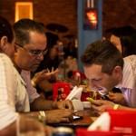 O encontro foi realizado no bar Rey Castro.  (FOTO: Ricardo D'Angelo)