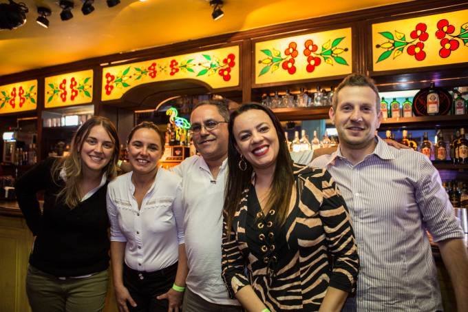Beatriz _ Lourdes _ Paulo _ Ivani e André