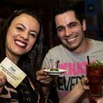 Ivani Piauilino foi a grande vencedora da noite. Ela ganhou uma dose de tequila por se destacar na aula de dança e um voucher de R$ 150,00 para gastar no Rey Castro.  (FOTO: Ricardo D'Angelo)