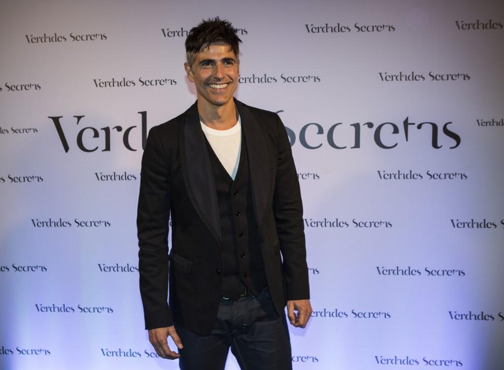 O ator Reinaldo Gianecchini durante festa de lançamento da novela Verdades Secretas (Foto: Ricardo D'Angelo)