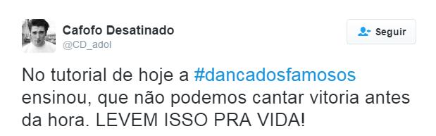 Dança do Famosos Final_twitter 4
