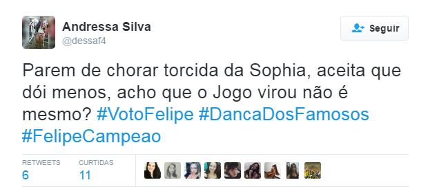 Dança do Famosos Final_twitter 8