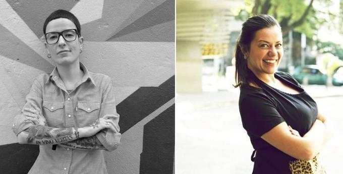 Dani Bravin e Janaína Rueda: parceria na Casa do Porco e no Bar da Dona Onça (Fotos: Lua Sampaio e divulgação)