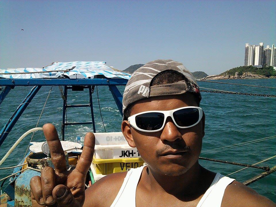 Daniel Francisco dos Santos morava na Praia do Góes, em Guarujá (Foto: Arquivo Pessoal)