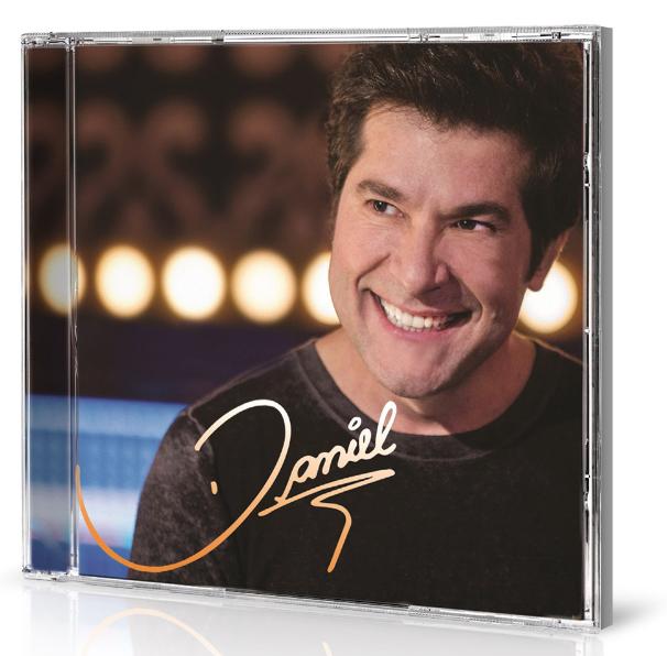 Capa do novo álbum do cantor, intitulado Daniel (Foto: Divulgação)