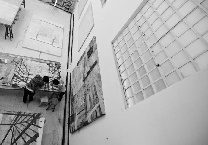 Daniel Senise: obras do artista