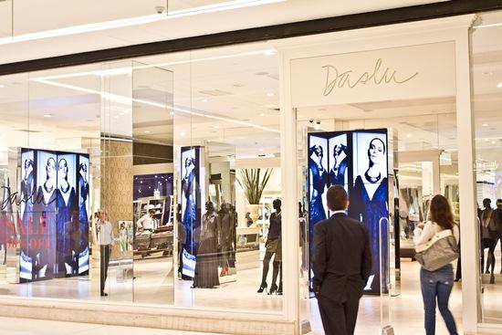 Data da foto: 07/2012Fachada da loja Daslu, no Shopping JK Iguatemi.