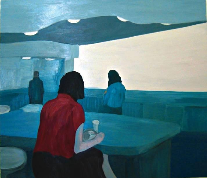 Almoço (Para Hopper), de Deborah Paiva: bom momento para as telas brasileiras